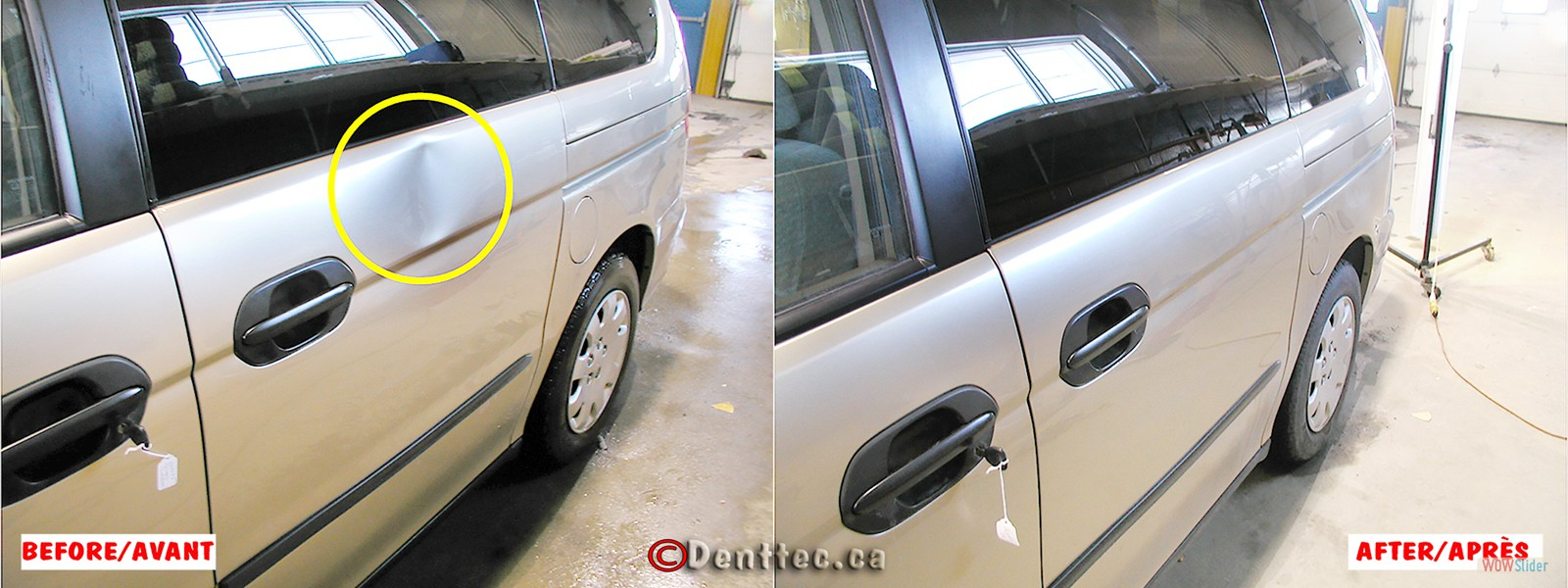 DentTec_06 Dent Door Minivan
